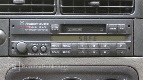 Safe 2 Autoradio Vw by Vw Or Audi How To Enter A Radio Code Radio Display Reads