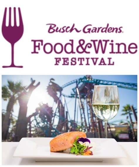 Garden State Wine Growers Festival 2017 Busch Gardens Food Wine Festival Concert Line Up 2017
