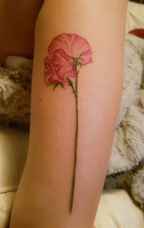 sweet pea flower tattoo designs best 25 sweet pea ideas on sweetpea