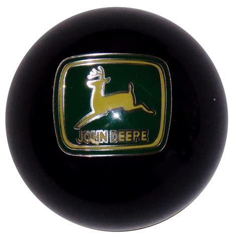 Deere Shifter Knob by Deere Emblem Black Shift Knob