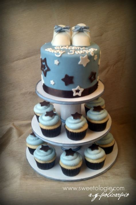 Cupcake Tower For Baby Shower by Baby Shower Cupcake Tower Cakecentral