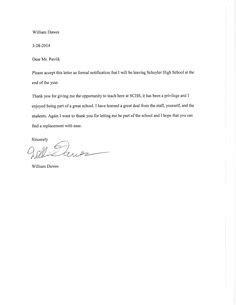 1 week notice resignation letter sle simple resignation letter 1 month notice as sle letter