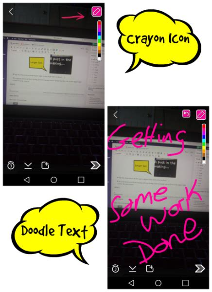 doodle text snapchat for beginners from getting started to getting
