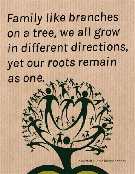 are you a branch on our family tree us history heartfelt quotes