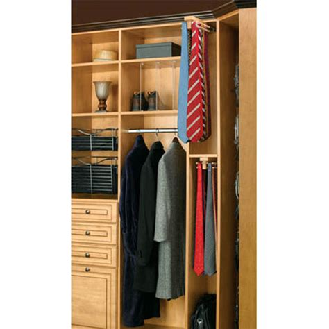 Tie Shelf by Rev A Shelf Maple Tie Rack Top Mount With Free Shipping