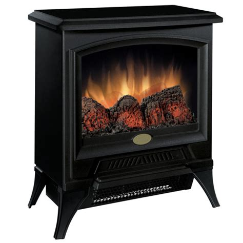 compact electric fireplace heater dimplex compact stove cs1205