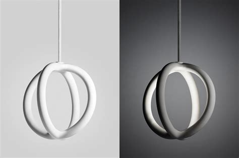 A In Two Parts two parts 3d printed ceramic lights design milk
