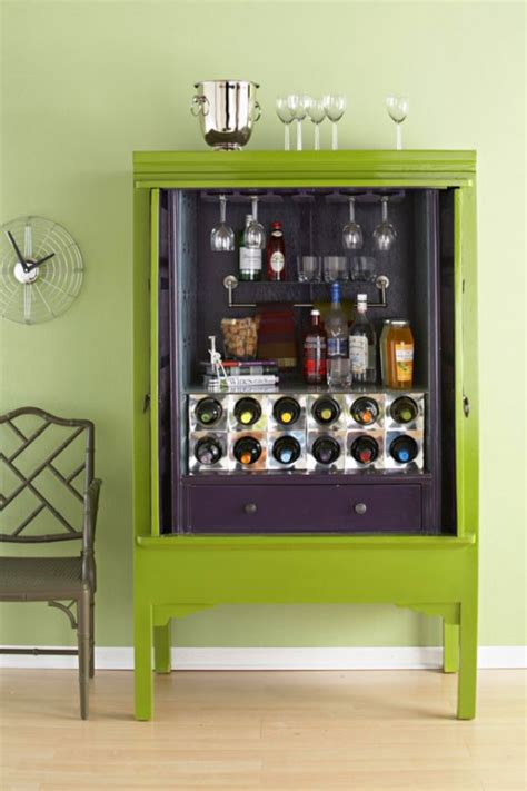 Home Bar Armoire Diy Home Bar Cabinet From An Armoire Diy And Crafts