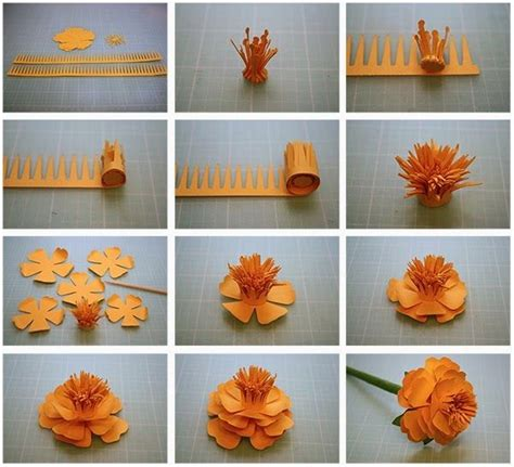 Craft Work In Paper - craft work with paper flowers step by step find craft ideas