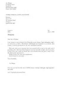 Business Letter Format Email Business Letter Format Cc Via Email