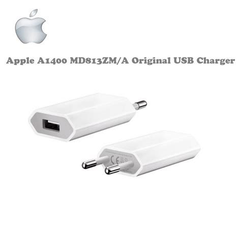 Adaptor Iphone Original apple a1400 md813zm a 5w original usb travel charger universal iphone 4 4s 5 5s 6 plus