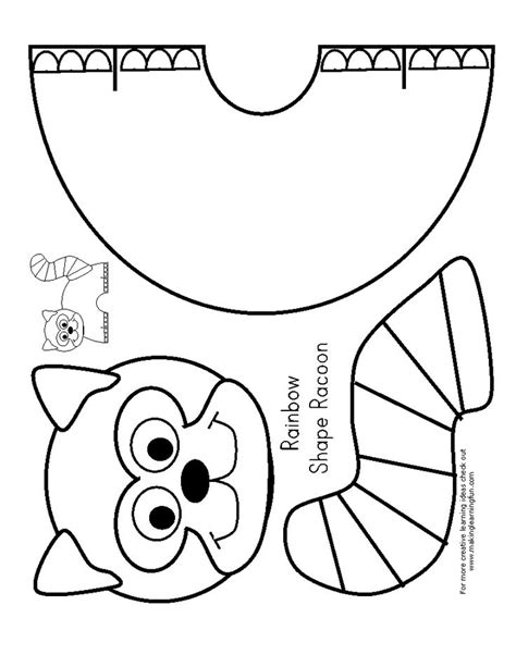 raccoon coloring pages kindergarten 1549 best images about 231 izim on pinterest coloring