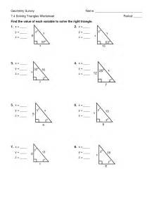 matelic image solving right triangles worksheet
