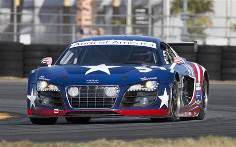 audi race car audi r8 grand am car tested coming to 24 hours of daytona