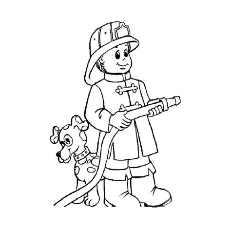 imagenes para colorear bombero dibujos de profesiones para ni 209 os 174 para colorear e imprimir