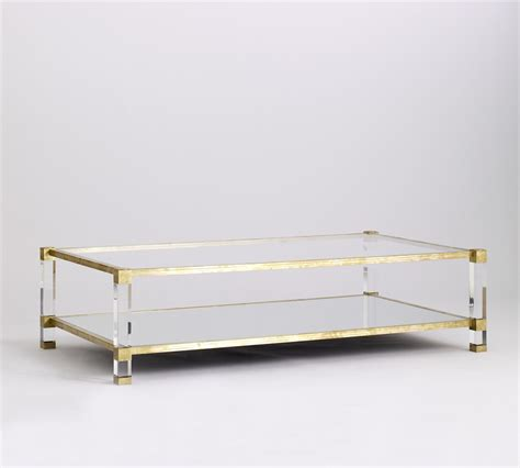 Acrylic Lucite Coffee Table Coffee Table Lucite Brass Tables Coffee Side Dining Pinterest Coffee Tables Brass
