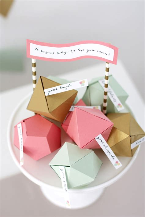 geometric mothers day surprise kristi murphy diy blog