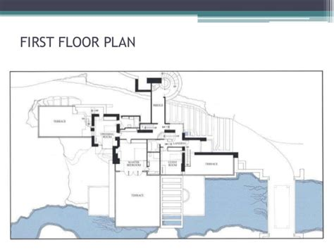 Floor Plans For A 3 Bedroom House by Falling Water