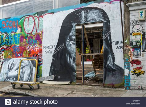 london urban street graffiti in the brick lane area of the city stock photo royalty free image
