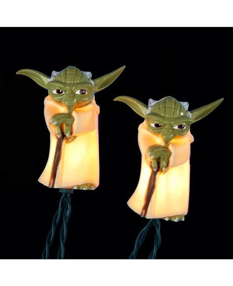 wars string lights yoda wars string lights