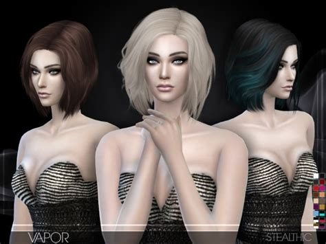 the sims resource stealthic captivated hair sims 4 stealthic s hairstyles sims 4 hairs