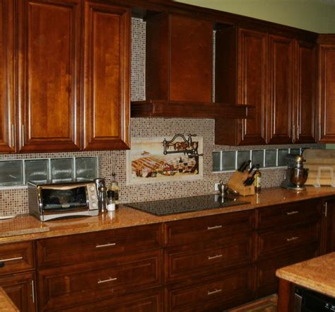 Backsplash Design Ideas For Kitchen Kitchen Backsplash Ideas With Cabinets Home Designs Project