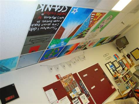 21 Best Ceiling Tile Images On Pinterest Book Quotes School Ceiling Tiles