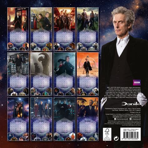 doctor who official annual 2018 books doctor who official 2018 calendar merchandise guide