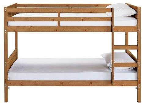 Single Loft Bed Frame Detachable Single Bunk Bed Frame Pine