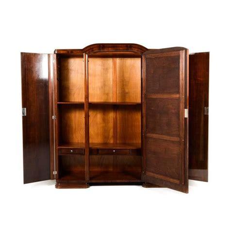 Three Door Armoire Antique Deco Three Door Armoire Circa 1930 At
