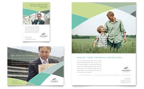 Financial Advisor Flyer Ad Template Design Financial Services Template