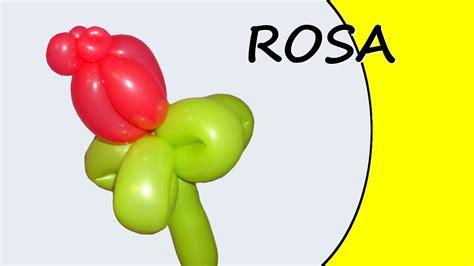 come fare fiori con palloncini palloncini modellabili la rosa