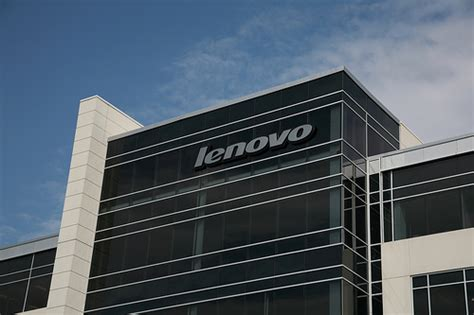 Lenovo Corporate Office by Lenovo Sign On Building One Headquarters In Morrisville