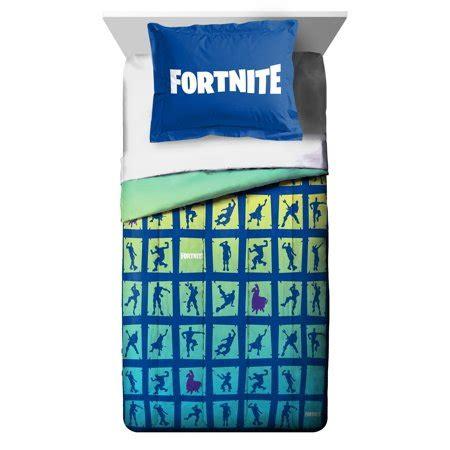 fortnite bedding fortnite boogie 2 comforter and sham set