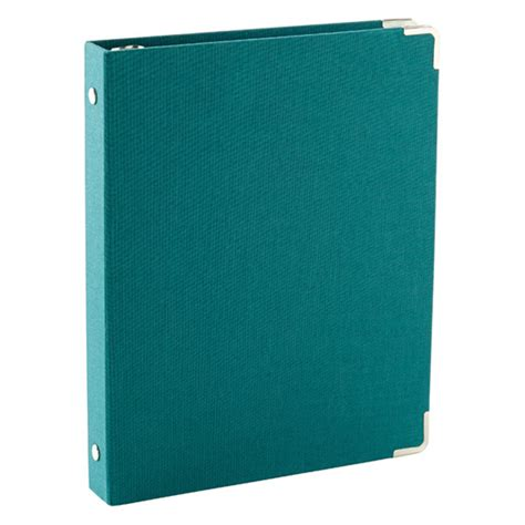 Souvenir Binder Small 3 peacock mini three ring binder the container store