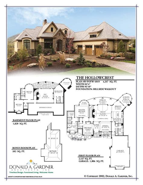 hollowcrest house plan hollowcrest house plan the hollowcrest house plan images