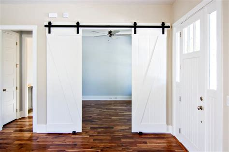 Tips Tricks Attractive Barn Style Doors For Home Sliding Barn Door Interior