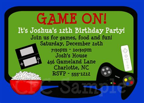 printable birthday cards video games video games birthday invitation video game birthday party