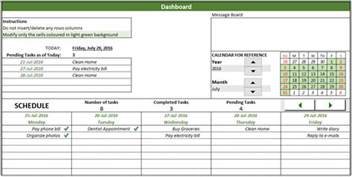 Monthly Task List Template Excel by Free To Do List Template In Excel To Create Manage Tasks