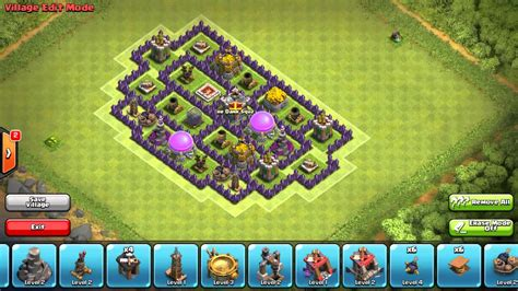 coc base 7th hd image dawnload clash of clans th8 farming base 4 morters free download