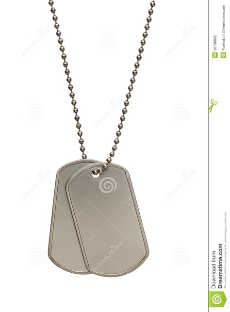 us army tags tags stock photography image 30736832