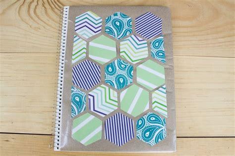 como decorar mis hojas de colores las 25 mejores ideas sobre cuadernos decorados en