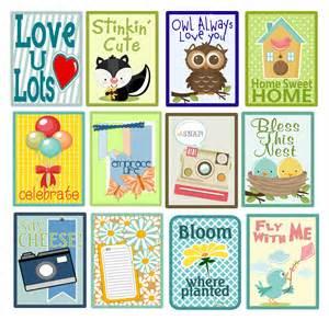 Diy scrapbook embellishments pocket cards pazzles craft room