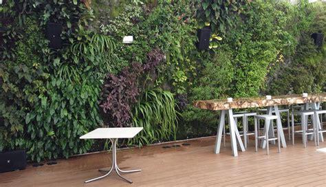 Vertical Garden Restaurant Juvia Restaurant Miami Vertical Garden Blanc