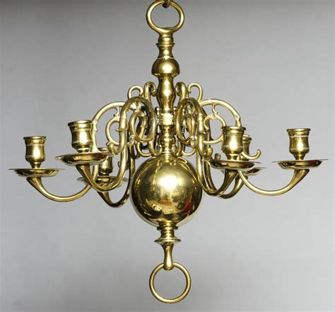 187 Product 187 Small Dutch Brass Chandelier Chandelier Antique Brass