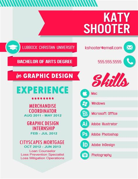 Graphic Design Resume Template by Resume Resume Design Layouts See More
