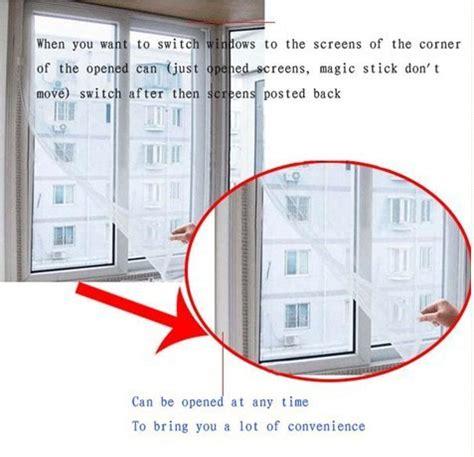 Spesial Tirai Jendela Anti Nyamuk Lalat Serangga Mosquito Curtain jual tirai jendela anti nyamuk mosquito gorden bukan