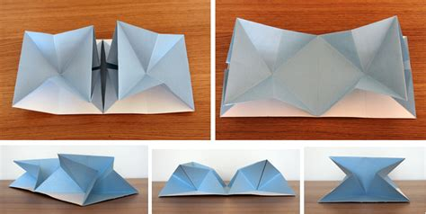 Paper Folds - paper folding look book inspiration gemma rhead fmp