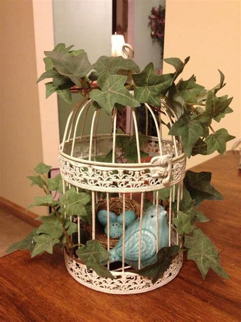 how to decorate a birdcage home decor 1000 images about bird cages on pinterest shabby chic