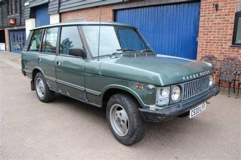 how does cars work 1987 land rover range rover on board diagnostic system for sale range rover needs re commisioning work 1987 classic cars hq